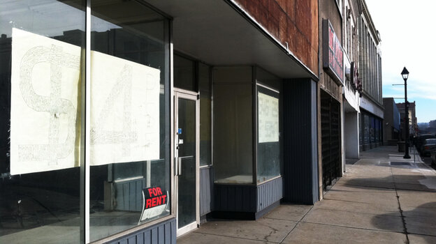 Almost every office building in downtown McKeesport, Pa., is abandoned or boarded up. Since t