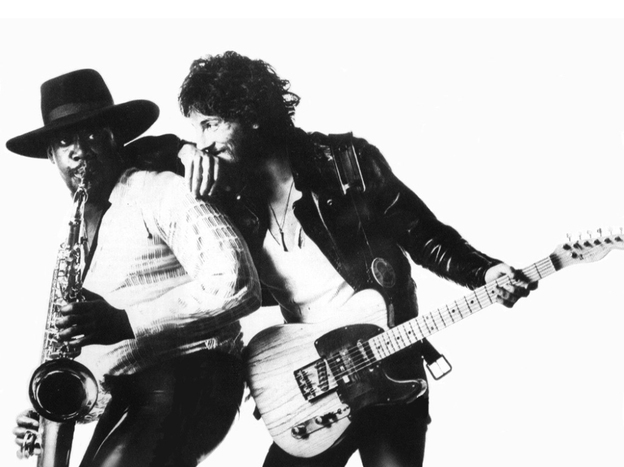 Do Clarence Clemons' sax and Bruce Springsteen's voice motivate you to hit the pavement?