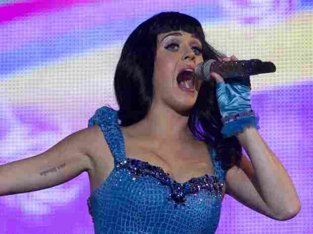 Katy Perry performs at the Rock in Rio music festival in Rio de Janeiro, Brazil, on Sept. 23.