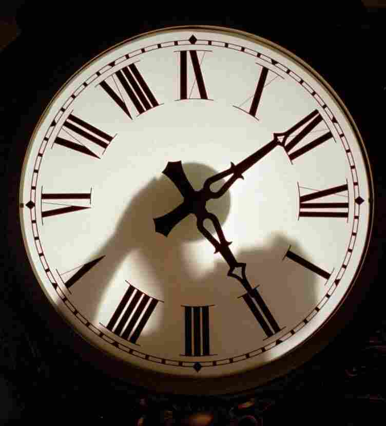 Time to scrap the leap second? No decision just yet. (1997 file photo from the Electric Time Co. factory in Medfield, Mass.)