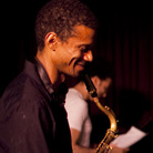 "Mark Turner (left) told JazzSet, ""I consider myself an economical player, not at the top of my voice on every song no matter what, and Paul [Motian] is like that."""