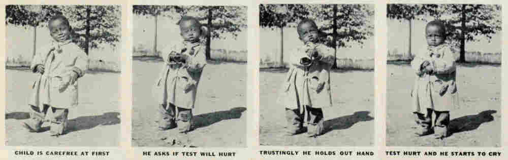 A clipping from a 1940 photo essay in Life magazine.
