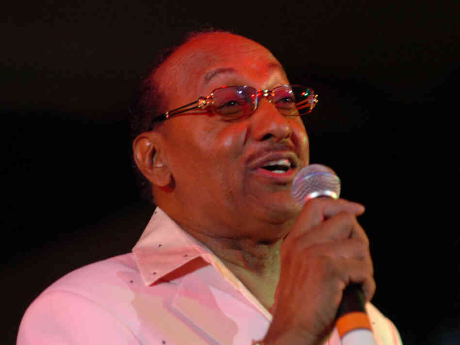 "Abdul ""Duke"" Fakir of the Four Tops performs in Detroit in February 2006."