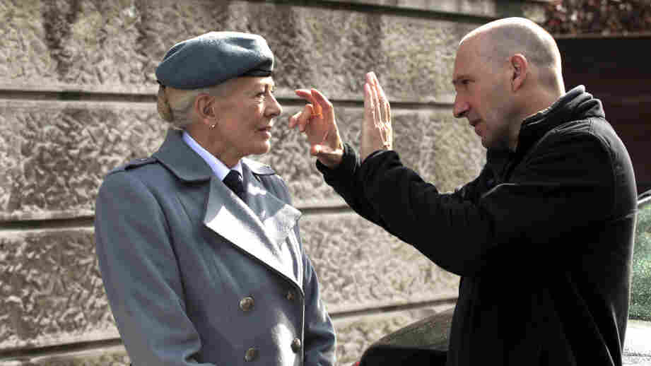 Caius In Charge: Ralph Fiennes directs co-star Vanessa Redgrave in his big-screen adaptation of Shakespeare's Coriolanus.