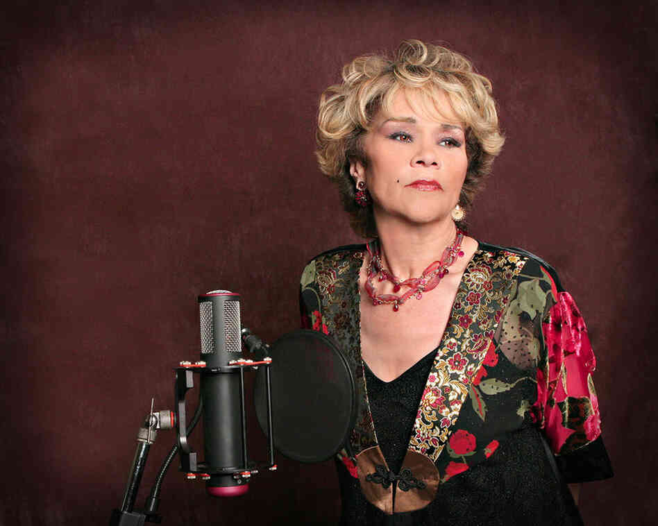 "Etta James poses for a publicity photo supporting the March 14, 2006 release of her album ""All The Way."""