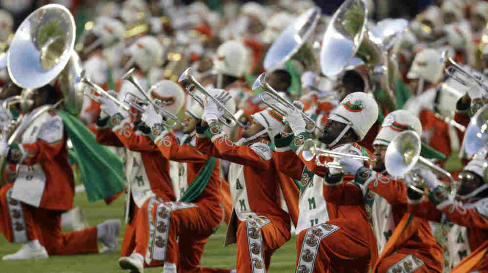 The Florida A&M University Marching 100 Band.
