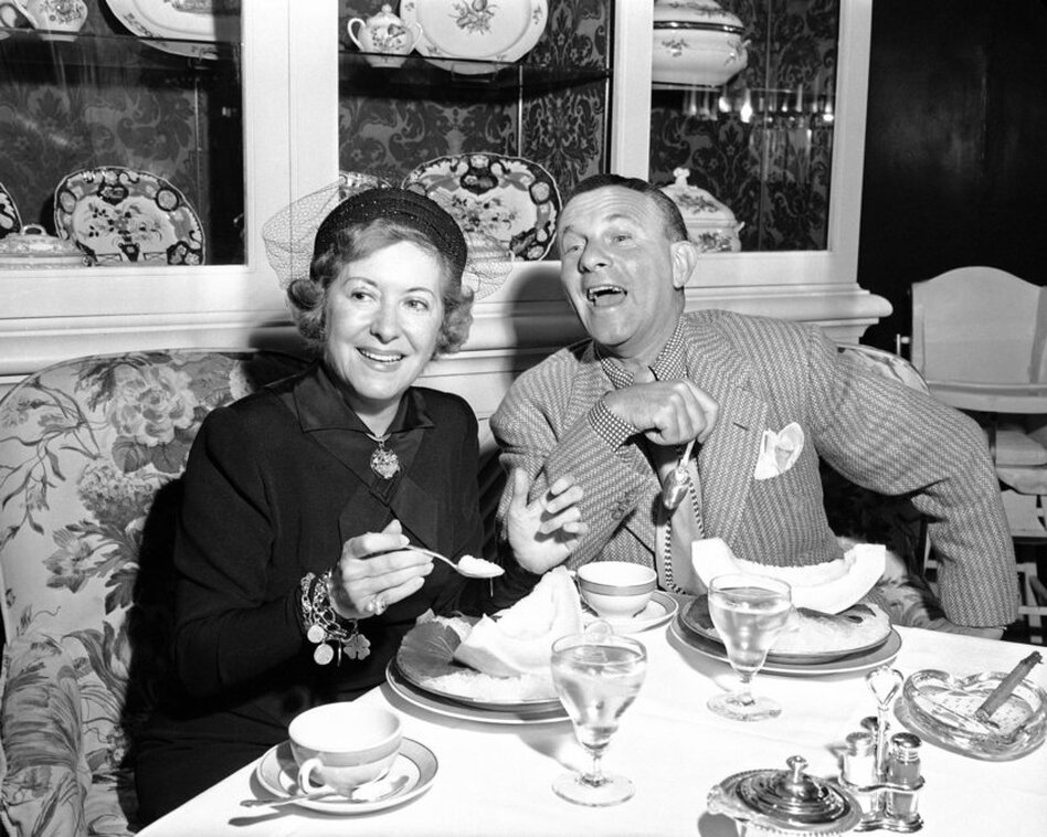 "In 1940, Gracie Allen, the female half of the comedy team Burns and Allen, announced her intention to run for president on the Surprise Party ticket. The party's mascot was a kangaroo; the slogan was ""It's in the bag.""   (AP)"