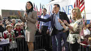 In Backing Romney, Haley Seen As Political Enigma