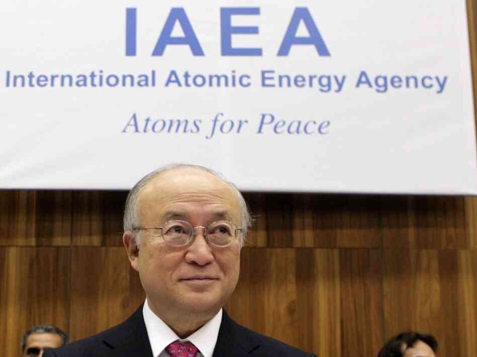 International Atomic Energy Agency (IAEA) Director-General Yukiya Amano at the agency headquarters in Vienna on Nov. 17, 2011. IAEA released the report on Iran's nuclear technology featured in Tom Gjelten's report.