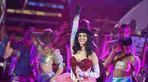 Katy Perry performs on the opening night of her 'California Dreams' UK tour.
