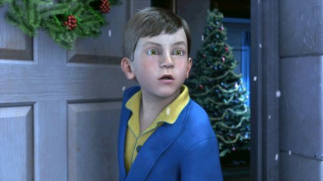 Hero Boy — played by Tom Hanks — in The Polar Express