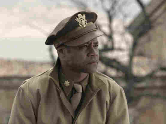 Cuba Gooding Jr. plays pipe-smoking, swaggering Maj. Emmanuel Stance in Red Tails.