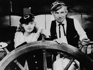 "To prove that he thought all campaigning was bunk, actor and satirist Will Rogers created a mock presidential campaign in 1928, running as the ""bunkless candidate"" of the Anti-Bunk Party. Here, he's seen with actress Anne Shirley."