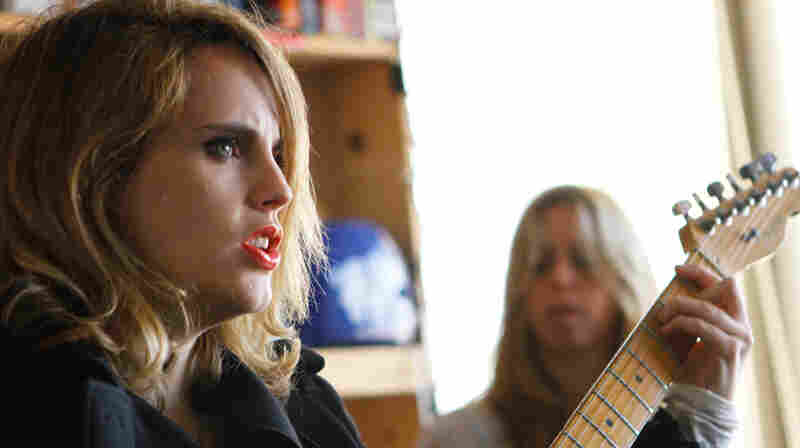 Anna Calvi performs a Tiny Desk Concert at the NPR Music offices.