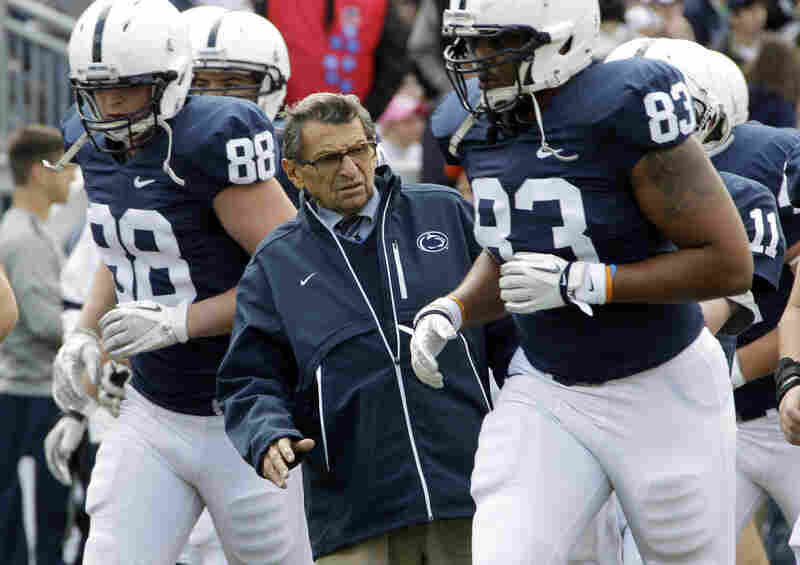 """The man known as """"JoePa"""" won 409 games and took the Nittany Lions to 37 bowl games and two national championships. More than 250 of the players he coached went on to the NFL."""