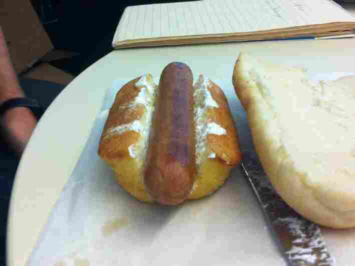 The Twinkie Wiener Sandwich.