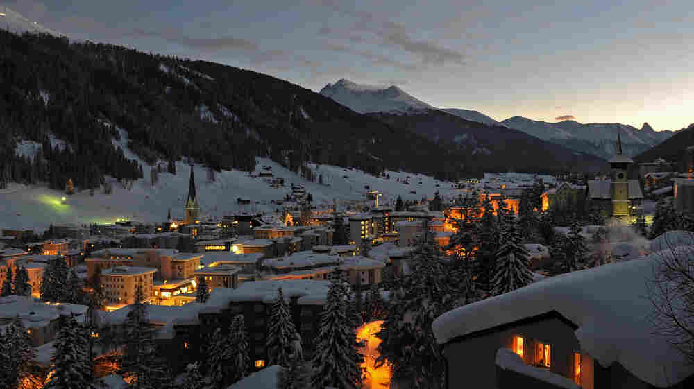 A prestigious crowd gathers in Davos, Switzerland, this week to weigh how to hold off a European financial meltdown that would threaten the world economy.