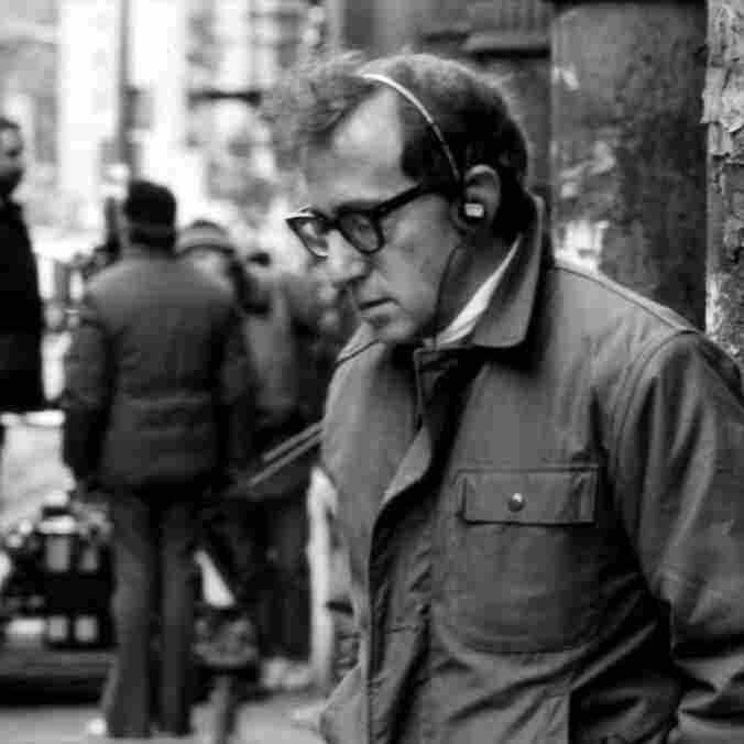 """Making a movie is a great distraction from the real agonies of the world,"" filmmaker Woody Allen told Fresh Air in 2009."