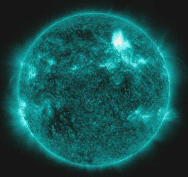 NASA's Solar Dynamics Observatory keeps an eye on the sun's massively energetic surface. It provides advance warning of events that threaten the Earth.