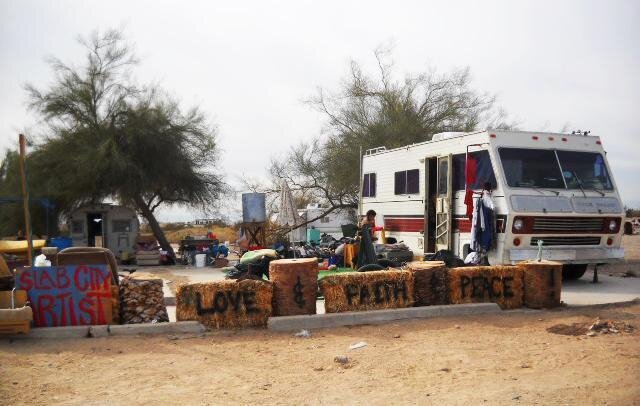slab city an escape for the down and out npr