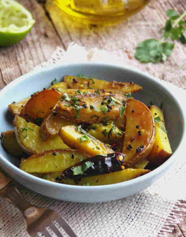 Potatoes With Indian Five Spice
