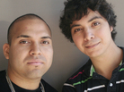 Roger Alvarez (left) did not graduate from high school, despite the efforts of his former English teacher, Antero Garcia. At 22, Alvarez still hopes to get his GED.