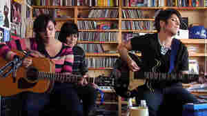 Girl In A Coma performs a Tiny Desk Concert at the NPR Music offices.