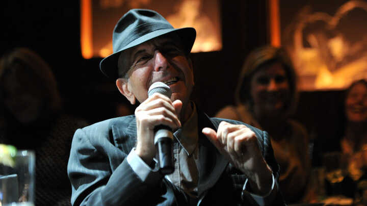 Leonard Cohen In New York