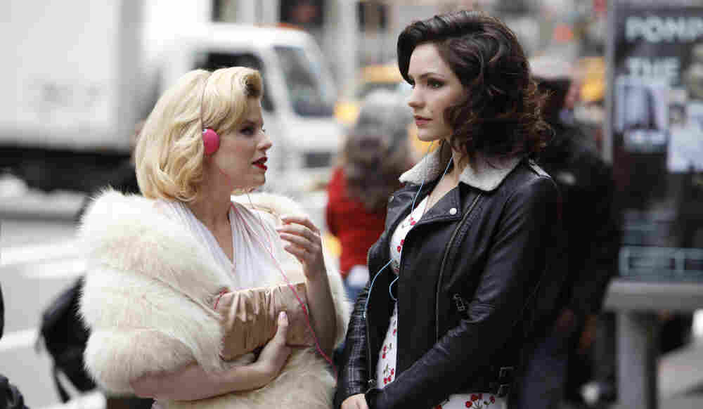 Ingenue Or Leading Lady? Ivy (played by Megan Hilty, left) and Karen (played by Katharine McPhee) compete for the coveted lead role in Smash, which premieres Feb. 6 on NBC.