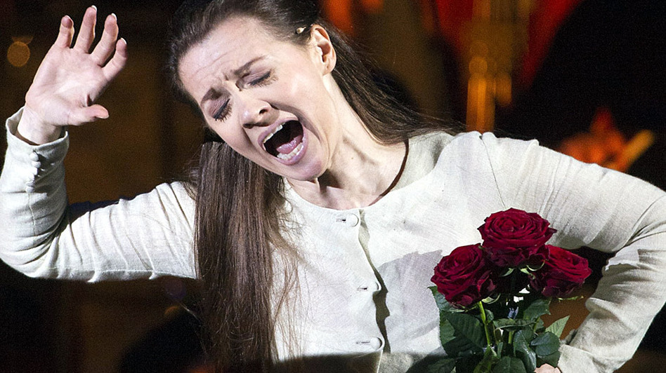 Soprano Patricia Ciofi sings an aria from Verdi's Rigoletto.  (AFP/Getty Images)