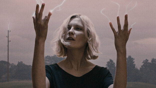 Kirsten Dunst in Melancholia, which used classical compositions to accompany its lush imagery.