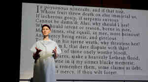 In a revival of Wit on Broadway, Cynthia Nixon plays Vivan Bearing, a brilliant John Donne scholar forced to consider her own mortality when she's diagnosed with ovarian cancer.
