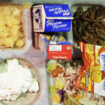 School lunches at Northeast Elementary Magnet in Danville, Ill., are low-fat or no-fat and include fresh fruit or veggies every day.