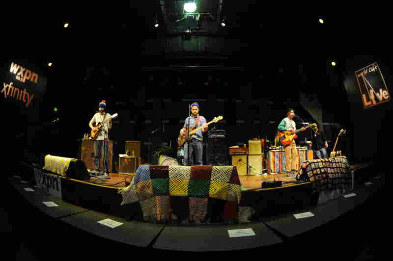 Dr. Dog in concert.