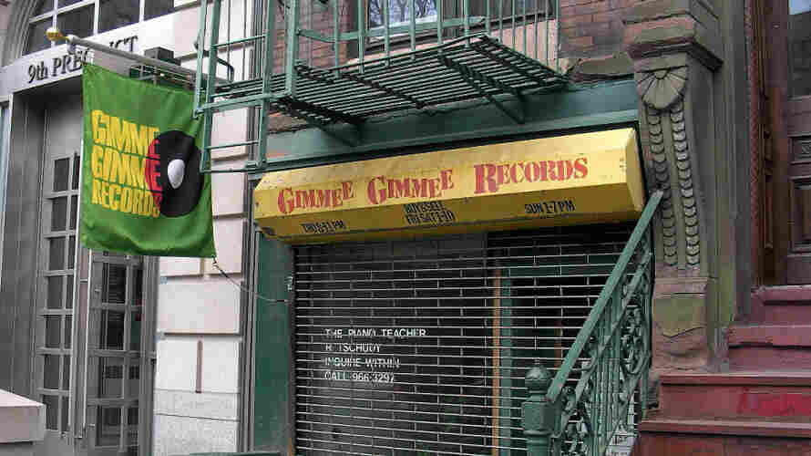Gimme Gimme Records in Manhattan's East Village, Egon's source for an affordable copy of Charles 'Cha Cha' Shaw's Kingdom Come.