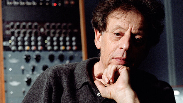 At age 75, composer Philip Glass is as busy as ever.