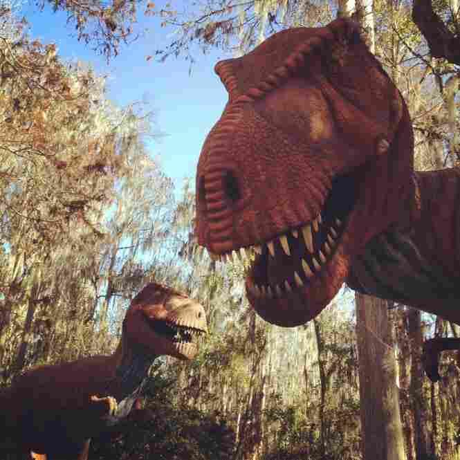 Dinosaur World in Plant City off Interstate 4.