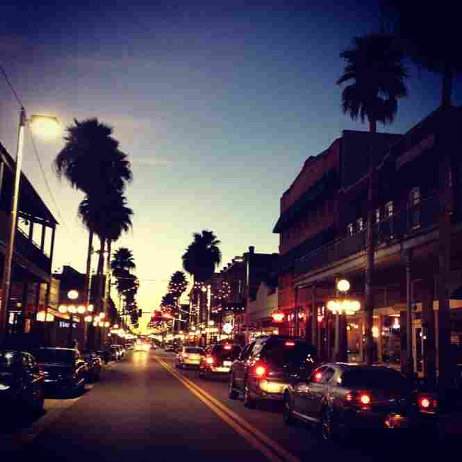 Downtown Ybor City in Tampa.