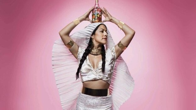 """Lila Downs says """"Zapata Se Queda"""" was inspired by a recurring dream in which the ghost of revolutionary icon Emiliano Zapata visited her home."""