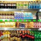 At Massachusetts General Hospital's cafeteria, moving water and diet beverages to eye level (above the dotted line) increased sales.