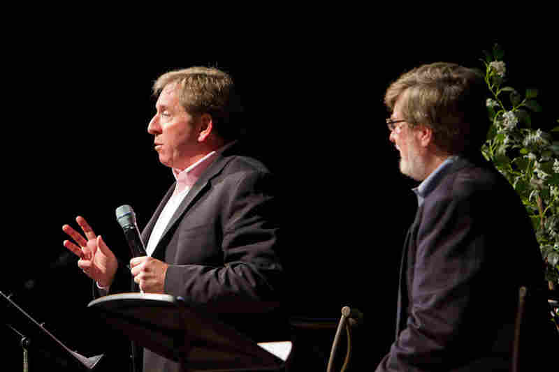 "NPR's in-house ""Political Junkie"" Ken Rudin (left) explains the significance of the Florida Primary to Presidential elections historically and in the current 2012 election cycle."