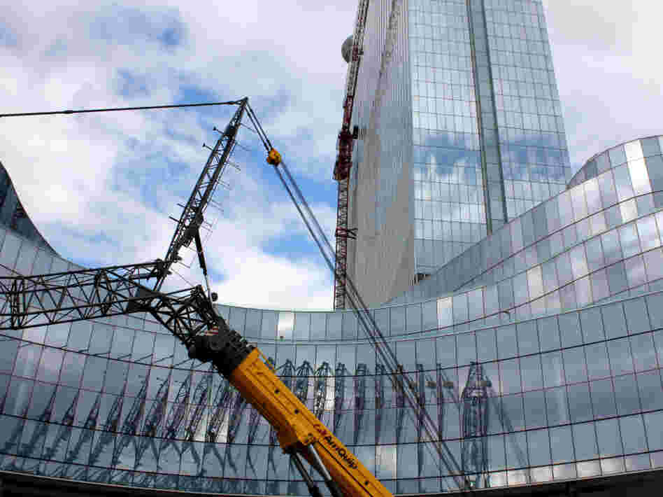 The new Revel casino, which sits along the boardwalk in Atlantic City, has drawn criticism for its employment policies.