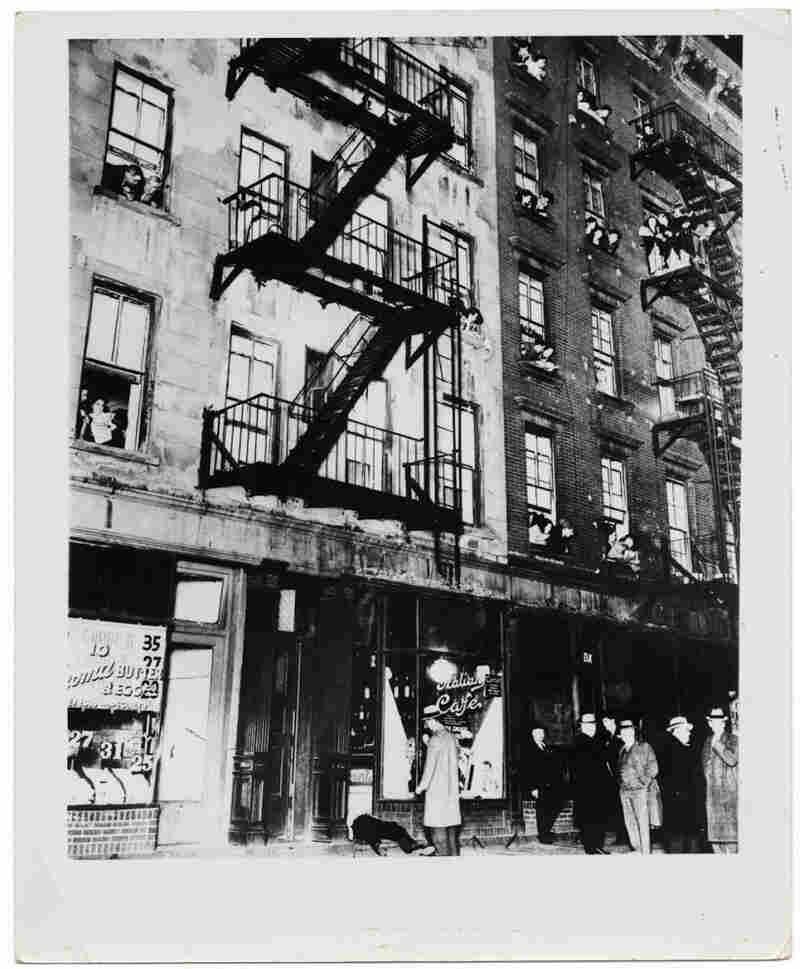 Balcony seats at a murder, November 16, 1939