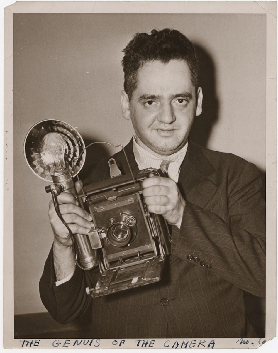 <em>The Genius of the Camera</em>, circa 1938: A self-portrait