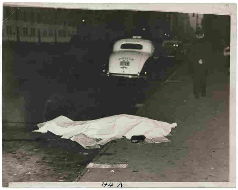 Girl jumped out of car, and was killed, on Park Ave., circa 1938