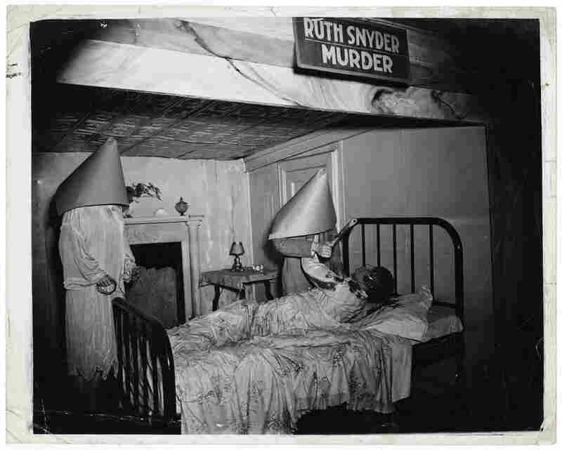 """[""""Ruth Snyder Murder"""" wax display, Eden Musee, Coney Island, New York], circa 1941"""