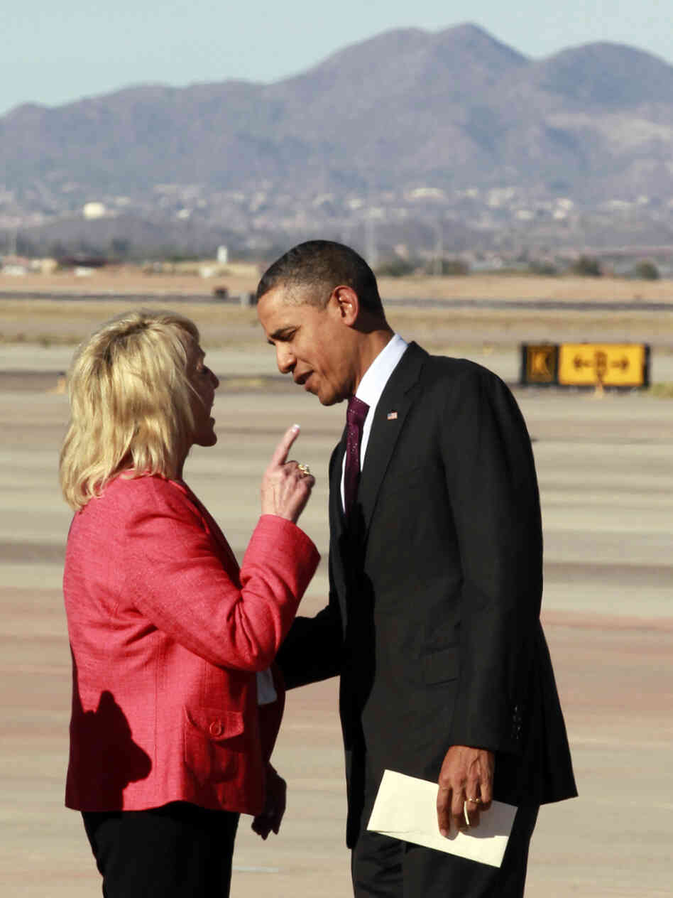 Will Mitt Romney be able to get under President Obama's skin the way Gov. Jan Brewer says she did?