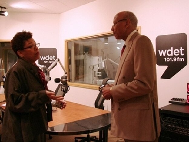 Michel Martin talks with Detroit Mayor Dave Bing.