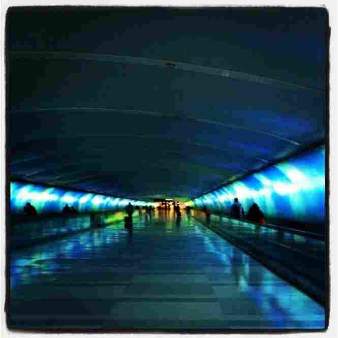 #detroit #airport #colorful