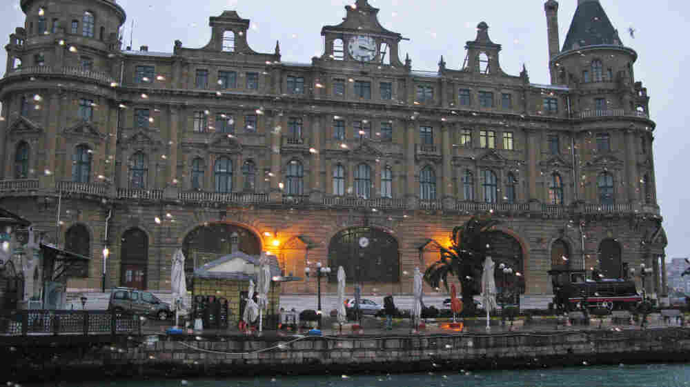 Rapid building in Istanbul is remaking the city, and activists are seeking to preserve historic places. The Haydarpasa train station, which dates to the 19th century, is closing for renovations. But longtime station workers suspect the city will convert the station into a luxury hotel or other commercial property.